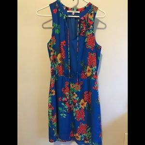 Collective Concepts blue floral dress
